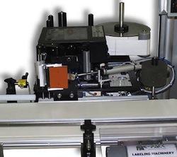 label system corner wrap