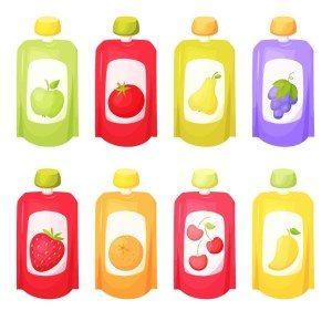 organic baby food packaging
