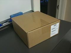 date marking cardboard boxes