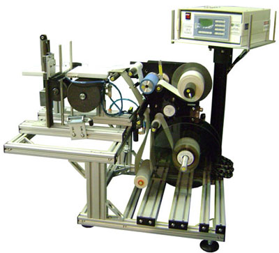 Re-Pack Wire Wrap Table Top Labeling System
