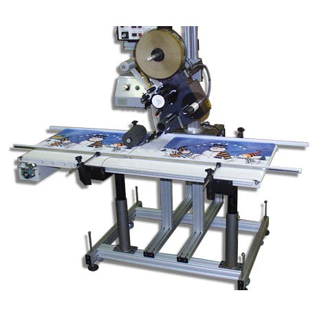 Re-Pack Top Panel Labeling System